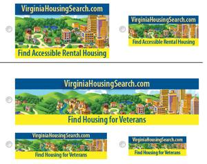 Download VirginiaHousingSearch.com Banners to Your Website